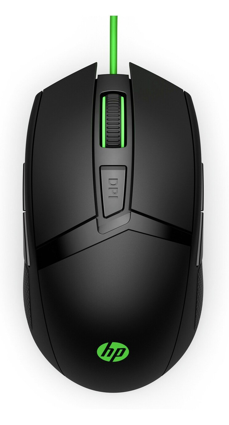 HP 300 Pavilion Wired Gaming Mouse - Black from HP