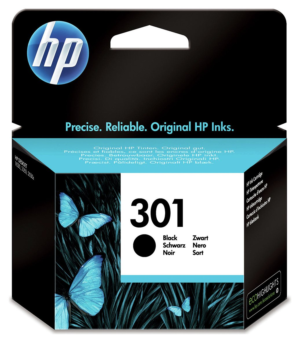 HP 301 Original Ink Cartridge - Black from HP