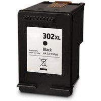 Compatible Black HP 302XL High Capacity Ink Cartridge (Replaces HP F6U68AE) from Printerinks