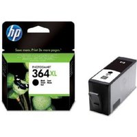 HP 364XL Black Original High Capacity Ink Cartridge with Vivera Ink from HP