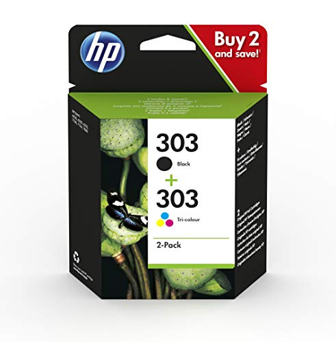 HP 3YM92AE 303 Original Ink Cartridges, Black and Tri-Colour, Multipack from HP