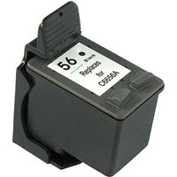 Compatible Black HP 56 Ink Cartridge (Replaces HP C6656AE) from Printerinks