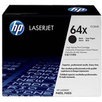 HP 64X CC364X Black Original Laserjet Toner Cartridge with Smart Printing Technology from HP