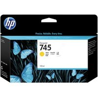 HP 745 Yellow Original Standard Ink Cartridge (F9J96A) from HP