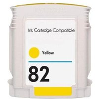 Compatible Yellow HP 82 High Capacity Ink Cartridge (Replaces HP C4913A) from Printerinks