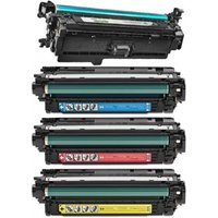 Compatible Multipack HP Colour LaserJet CM4540f Printer Toner Cartridges (4 Pack) -CB1-RT-CE264X/CF031-3ABK/Y_11121 from Printerinks