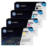 Original Multipack HP Colour LaserJet Enterprise CM4540 MFP Printer Toner Cartridges (4 Pack) -CB1-CE264X/CF031-3ABK/Y_13902 from HP