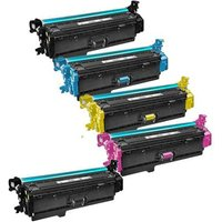 Compatible Multipack HP Colour LaserJet Pro MFP M277dw Printer Toner Cartridges (5 Pack) -RT-2B-CF400-3XBK/C/M/Y_14544 from Printerinks