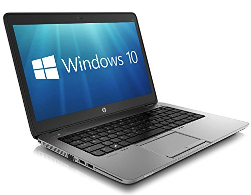 HP EliteBook 840 G1 14-inch Ultrabook (Intel Core i5 4th Gen, 8GB Memory, 320GB HDD, WiFi, WebCam, Windows 10 Professional 64-bit)  (Renewed) from HP