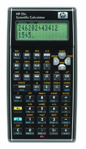HP 35S/B12 Scientific Calculator, Black from HP