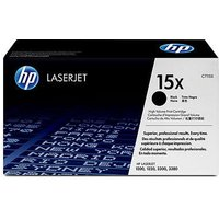 HP LaserJet C7115X Black Original High Capacity Print Cartridge with Ultraprecise Technology from HP