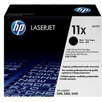 HP LaserJet Q6511X Black Original High Capacity Toner Cartridge with Smart Printing Technology from HP