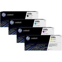 Original Multipack HP Laserjet Enterprise Color M553x Printer Toner Cartridges (4 Pack) -CB1-CF360X-3X BK/C/M/Y_14638 from HP