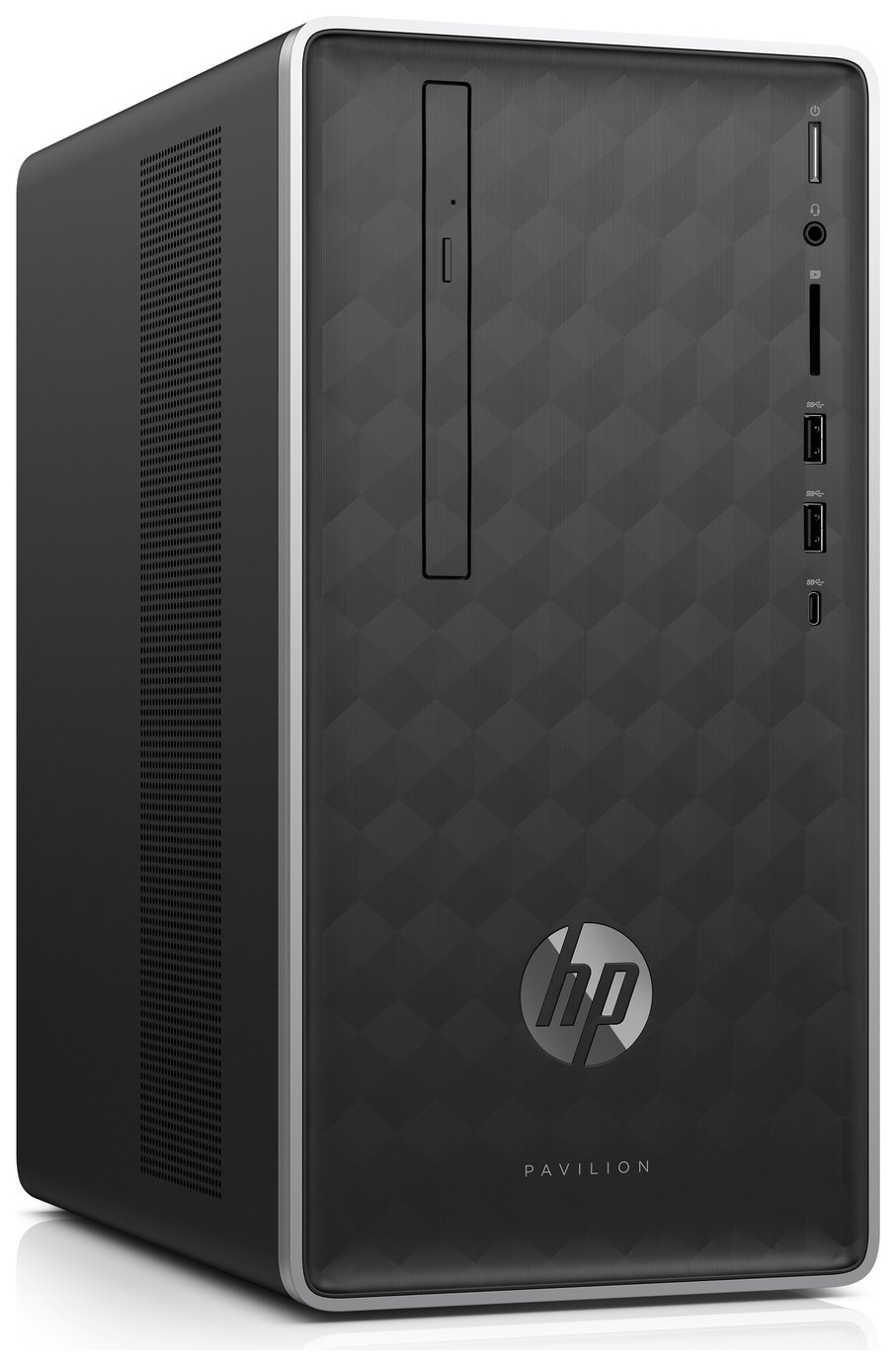 HP Pavilion Celeron 4GB 1TB Desktop PC - Black from HP