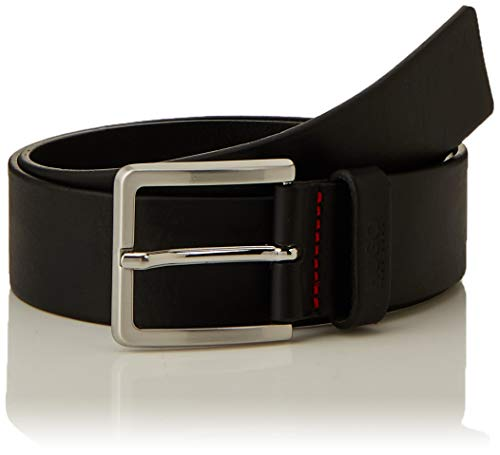 HUGO Men's Gionios_sz40 Belt, Black (Black 001), 36L (Size 90|#674) from HUGO