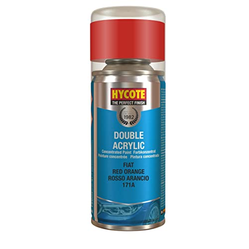 Hycote Fiat Red Orange Touch Up Aerosol, 150ml from HYCOTE