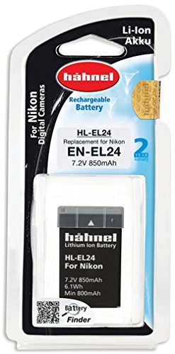 Hähnel Li-ion Battery for Nikon Digital Camera Battery for Nikon EL24 Black from Hähnel