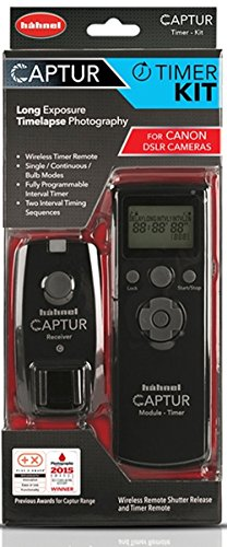 hähnel Captur Wireless Shutter Release and Timer Remote for Canon - Black from Hähnel