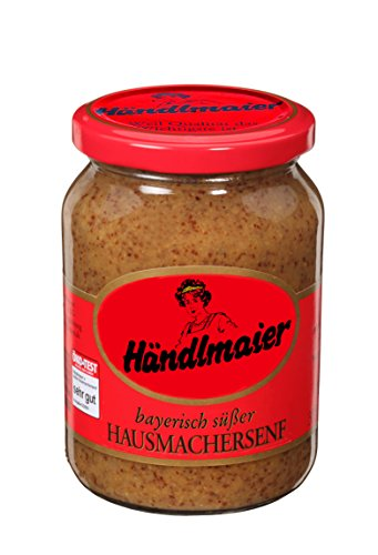 Bavarian sweet mustard from Händlmaier - sweet musterd