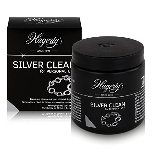 Hagerty Silver Clean 170ml Silver Dip Bath for Silver and Silver Plated Jewellery by Hagerty from Hagerty