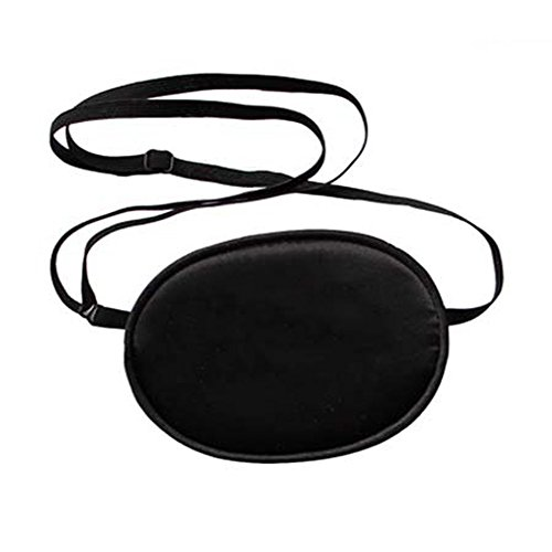 Haifly Adults Elastic Silk Eye Patch Lazy Eye for Amblyopia Black from Haifly