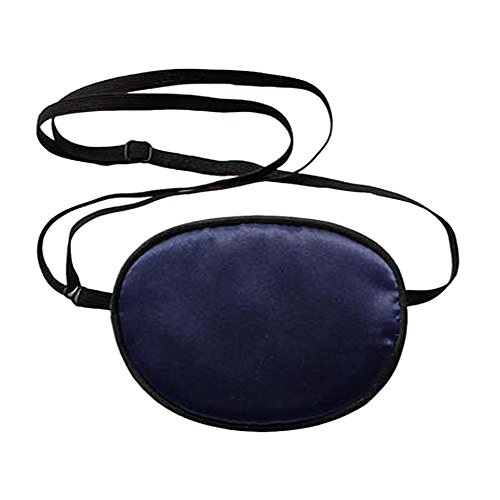 Haifly Adults Elastic Silk Eye Patch Lazy Eye for Amblyopia Deep Blue from Haifly