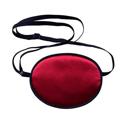 Haifly Adults Elastic Silk Eye Patch Lazy Eye for Amblyopia Deep Red from Haifly