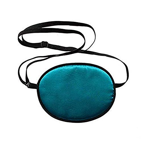 Haifly Adults Elastic Silk Eye Patch Lazy Eye for Amblyopia Blue from Haifly