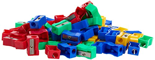 Hainenko Plastic Pencil Sharpeners - Assorted (Pack of 100) from Hainenko