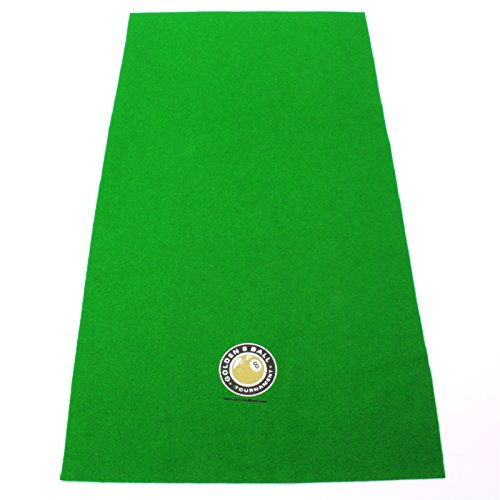 Hainsworth Pool Table Racking Cloth - SMALL GOLDEN 8 BALL LOGO from Hainsworth