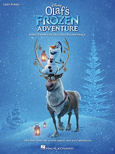 Disney's Olaf's Frozen Adventure for easy piano from Hal Leonard