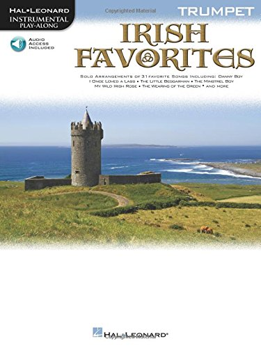 Irish Favorites for Trumpet Book & Cd from Hal Leonard