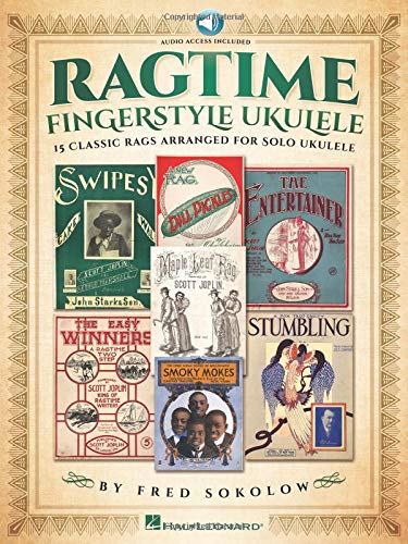 Ragtime Fingerstyle Ukulele (Book/Online Audio) from Hal Leonard