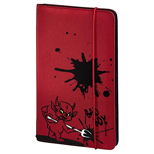 Hama Up to Fashion Nylon Case for up to 48 CDs/DVDs - Red 'Devil' from Hama