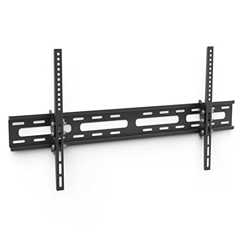 Hama 108719 flat panel wall mount - flat panel wall mounts (50 x 50 mm, 800 x 400 mm, 50 x 50,75 x 75,100 x 100,200 x 100,200 x 200,300 x 100,300 x 200,300 x 300,400 x 200,400 x 300,400 , 0 - 20°, Black, Metal) from Hama