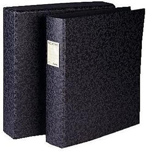 Hama 34 x 31 x 8 cm File for Negatives with slipcase, Black/Grey from Hama