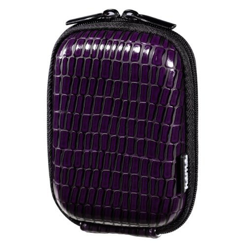 Hama 40 G Croco Hard Case Bag for Camera - Purple from Hama