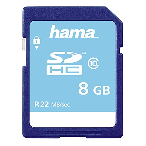Hama | SDHC 8GB C10 | Memory Card | 150x / 22 Mb/s , 00104366 from Hama