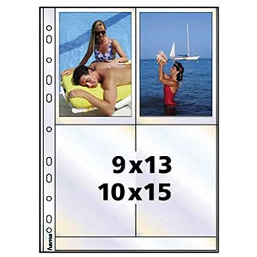 Hama 9787 Photo Sleeves A4 10 x 15 cm - White from Hama