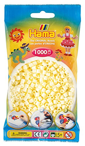 Hama Beads - Cream (1000 Midi Beads) from Hama
