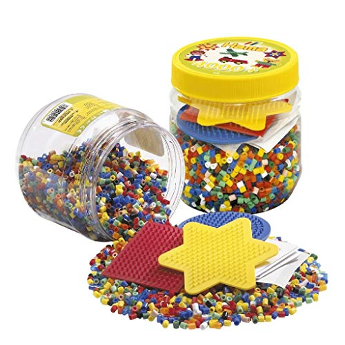 Hama Beads 4,000 Beads and Pegboard Tub from Hama