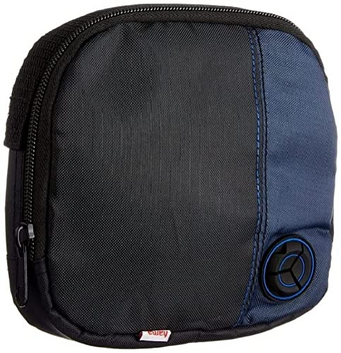 Hama CD Player Bag for CD Player and 3 CDs - Black/Blue from Hama