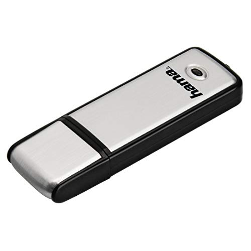 Hama Fancy FlashPen, USB 2.0, 16GB, 10 MB/s - Black | Silver from Hama