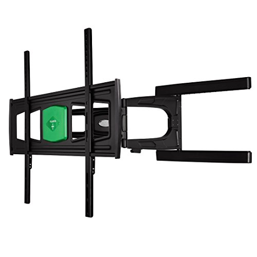 Hama Ultraslim Size XL Fullmotion Wall Bracket for TV with 2 Arms - Black from Hama