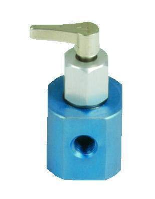 Hamilton 86785 Inert Valve, HVDP1-5, Housing/Plug, Distribution Flow Path, Two Port, Aluminum Housing from Hamilton