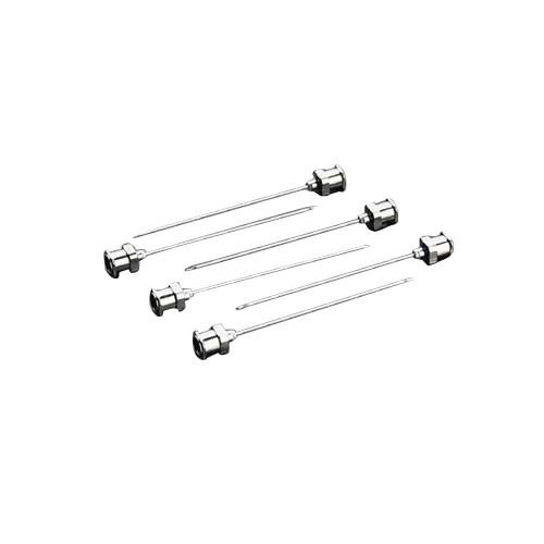 "Hamilton 90024 Needle, N724 24 gauge, Metal Hub, 2 Point Style, 2"" Length (Pack of 6) from Hamilton"