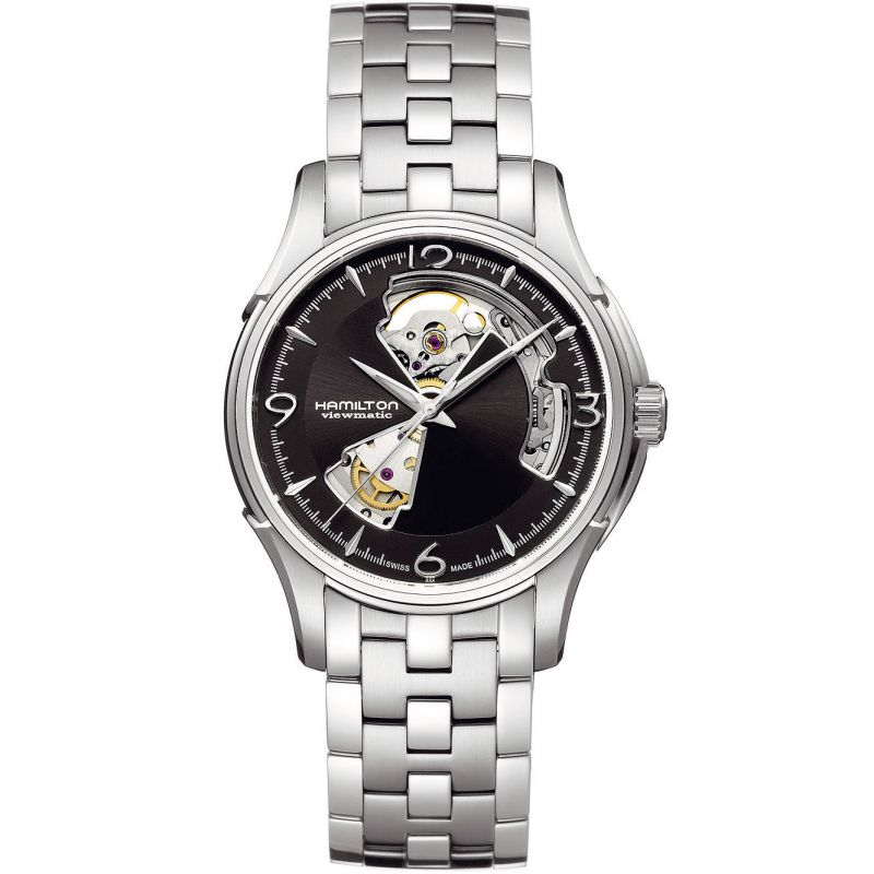 Mens Hamilton Jazzmaster Open Heart Automatic Watch from Hamilton