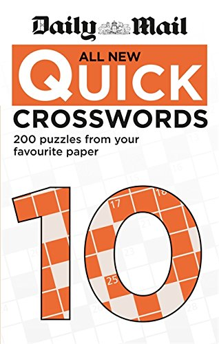 Daily Mail All New Quick Crosswords 10 (The Daily Mail Puzzle Books) from Daily Mail
