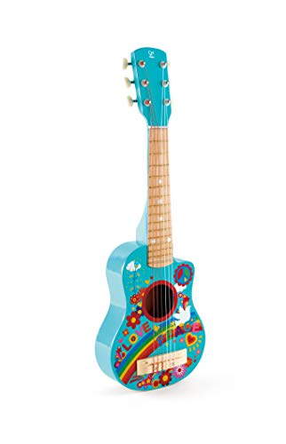 Hape E0600 Flower Power Guitar Toy, Multi-Colour, One Size from Hape