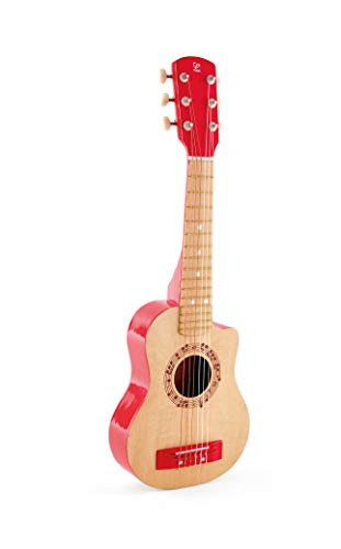 Hape E0602 Red Flame Guitar Toy, Multi-Colour, One Size from Hape